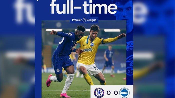 Skor Akhir Chelsea vs Brighton, Liga Inggris Rabu 21 April 2021