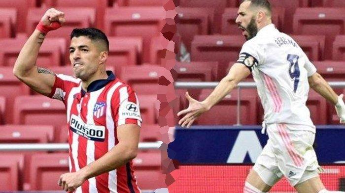 HASIL Atletico Madrid vs Real Madrid: Benzema Berhasil Selamatkan Los Blancos, Derby Madrid Imbang