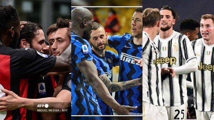 LIVE STREAMING Juventus vs Inter Liga Italia di beIN Sports, Sabtu, 15 Mei 2021 Pukul 23.00 WIB