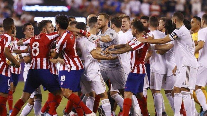 Hasil dan Klasemen Liga Spanyol Pekan ke-37: Atletico Madrid atau Real Madrid Juara La Liga?