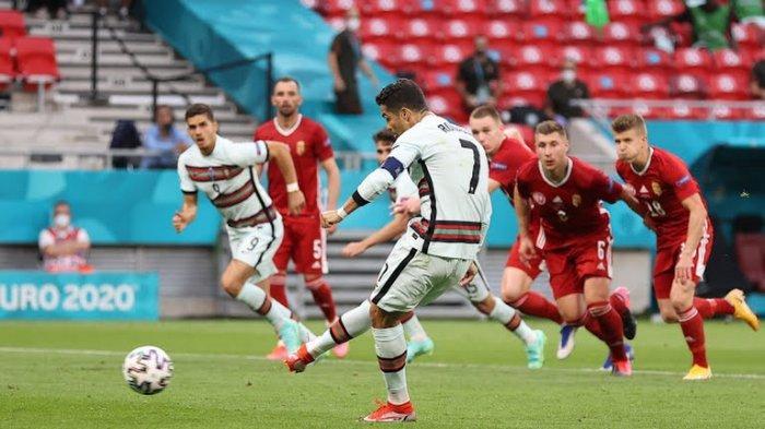 Hasil Euro 2020: Hungaria 0-3 Portugal Grup F, CR7 Cetak Brace dan Rekor di Eropa