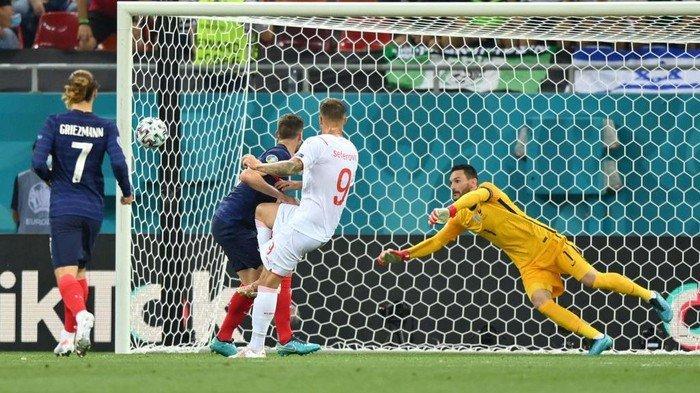 Ditahan Imbang Swiss 3-3, Kylian Mbappe Gagal Eksekusi Penalti Kubur Mimpi  Prancis di EURO 2020 - Tribun Manado