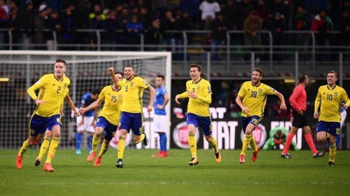Hasil Kualifikasi Piala Dunia 2022 Zona Eropa, Swedia Menang Tipis, Zlatan Ibrahimovic Tak Cetak Gol