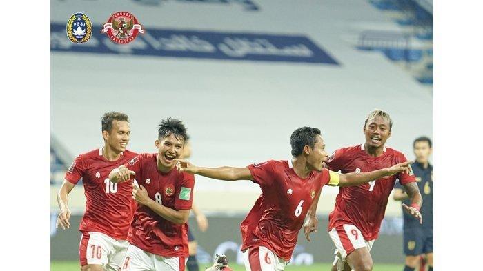Imbang saat Lawan Thailand, Tim Indonesia Berhasil Raih Poin Perdana di Kualifikasi Piala Dunia 2022