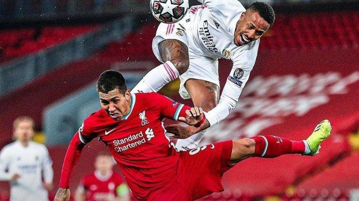Hasil Liga Champions Liverpool vs Real Madrid, Moh Salah Cs Tersingkir di Kandang Sendiri