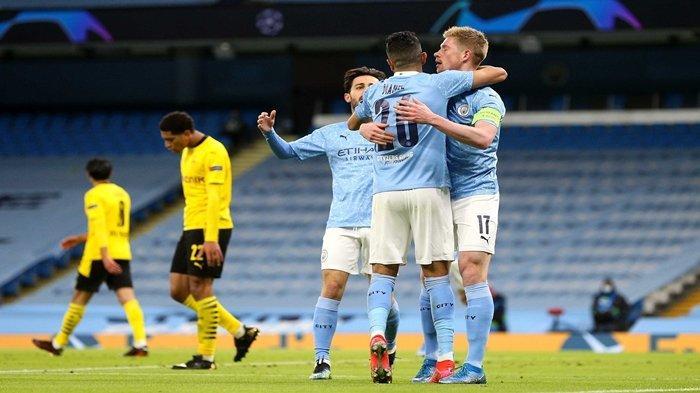 HASIL Liga Champions Manchester City vs Borussia Dortmund, Phil Foden Buat Marco Reus dkk Merana