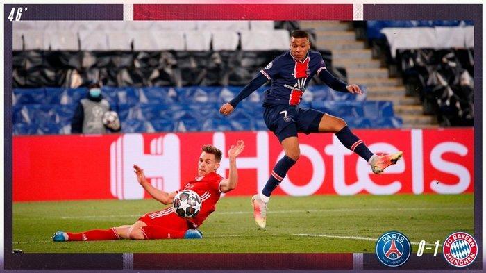 HASIL Liga Champions PSG vs Bayern Munchen, Les Parisiens Lolos ke Semifinal