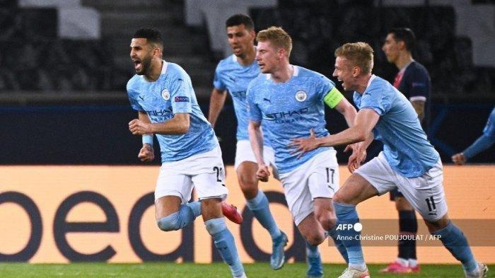 Hasil Liga Champions PSG Vs Manchester City, Sky Blues Digebrak Les Parisiens Sejak Menit Awal