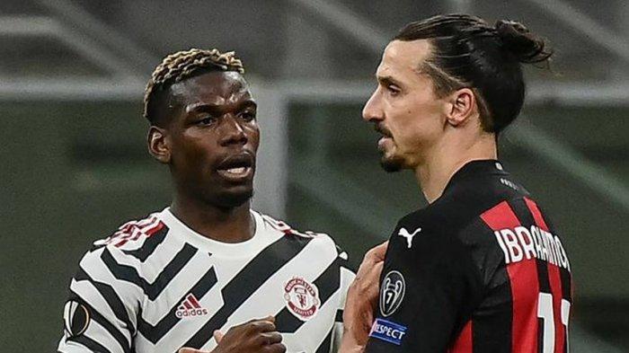 Hasil Liga Eropa AC Milan Vs Manchester United, Pogba Pupuskan Harapan AC  Milan, Maju Perempat Final - Tribun Manado