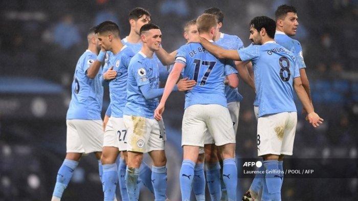 Hasil Liga Inggris Manchester City vs Brighton, Gol Penting Youngstar Inggris untuk The Citizen