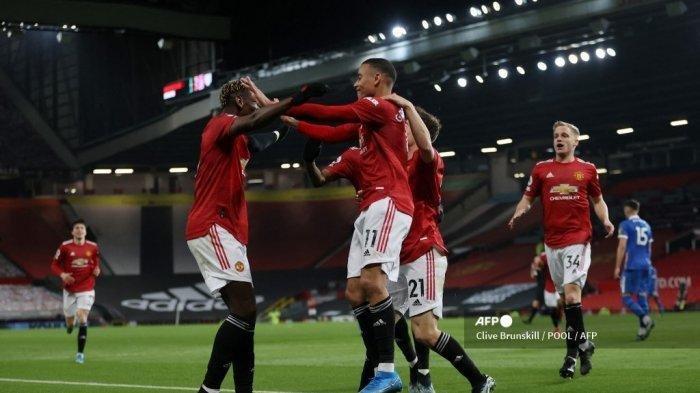 Hasil Liga Inggris Manchester United Vs Brighton, Bruno Fernandes Pencetak Assist Terajin, Skor 2-1