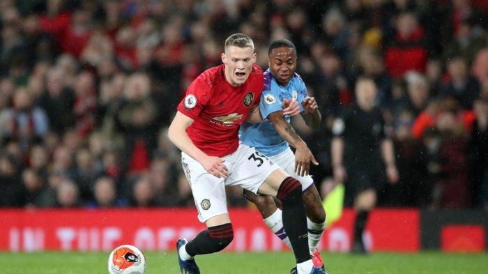 Hasil Liga Inggris Tadi Malam: Man United vs Man City 2-0, Gol Martial & McTominay