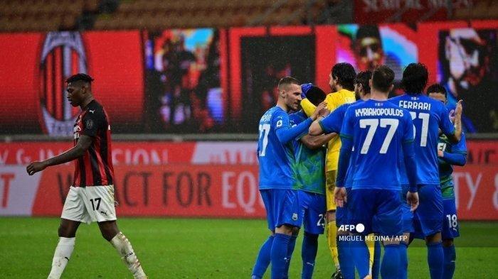 Hasil Liga Italia, AC Milan Tumbang, Skor Akhir 1-2 Dikalahkan Sassuolo, Posisi Klasemen Terancam