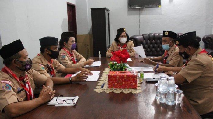 hasil Muscab Kwarcab Gerakan Pramuka Kota Bitung terpilih sebagai ketua Ny Rita Mantiri Tangkudung