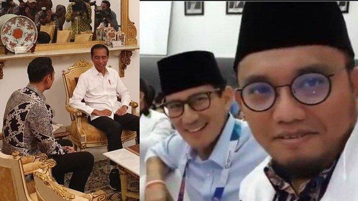 HASIL Pertemuan AHY-Jokowi Reaksi Sandiaga Uno hingga Dahnil Anzar
