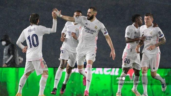 Hasil Real Madrid vs Sevilla: Los Blancos Gagal Kudeta Atletico Madrid Tapi Berhasil Salip Barcelona