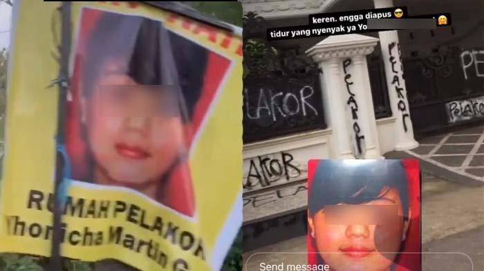 Pak RT Sebut Wanita Diduga Pelakor Orang yang Tertutup, Rumahnya Dicoret-coret, Istri Sah: Hati hati
