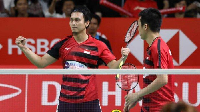 Jadwal & Live Streaming Final Singapore Open 2019, Ginting vs Momota, Ahsan/Hendra vs Takeshi/Keigo