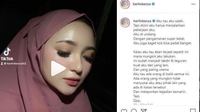 Sosok Herlin Kenza Selebgram yang Diduga Sebabkan Kerumunan, Dijuluki Barbie Hijab dan Punya Ajudan