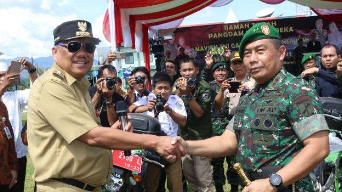 Pemprov Sulut Sumbang 10 Sepeda Motor untuk Operasional Koramil