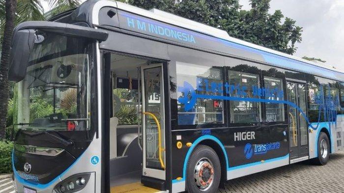 Higer Perkenalkan Bus Listrik, PT HMI Klaim Baterai Penuh Mampu Jelajah 300 Kilometer