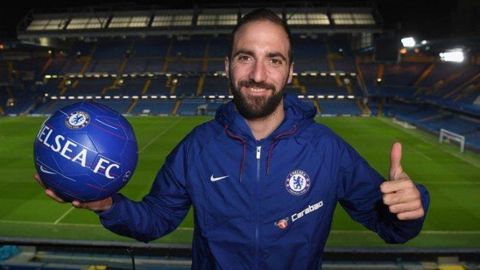 Liga Inggris - Pertahankan Gonzalo Higuain Menjadi Jaminan Chelsea Musim Depan Bagus