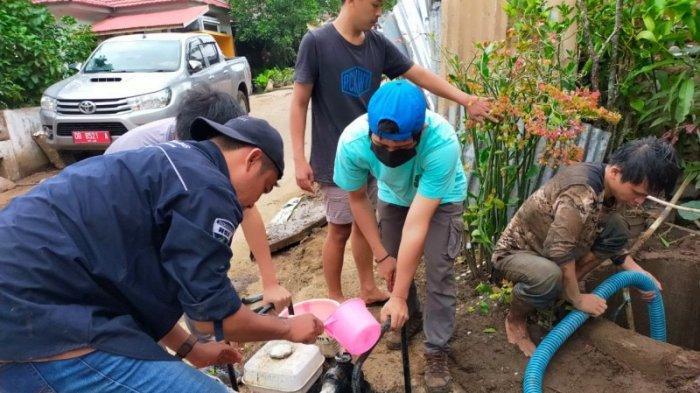 Himpunan Ahli Kesehatan Lingkungan Indonesia Sulut Rehab Sumur Warga Korban Banjir di Mitra