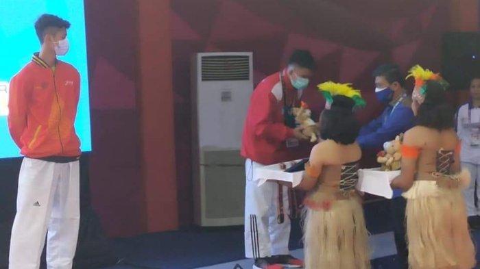 Hizkia A Lesar Raih Medali, Ketua Taekwondo Sulut Amelia Tungka Berterima Kasih ke Tim Pelatih