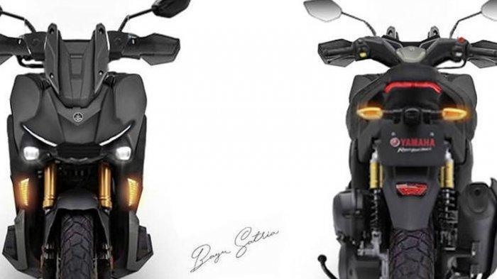 Honda ADV 150 Masih Banyak Peminat, Kini Beredar Desain Yamaha X-Ride 155