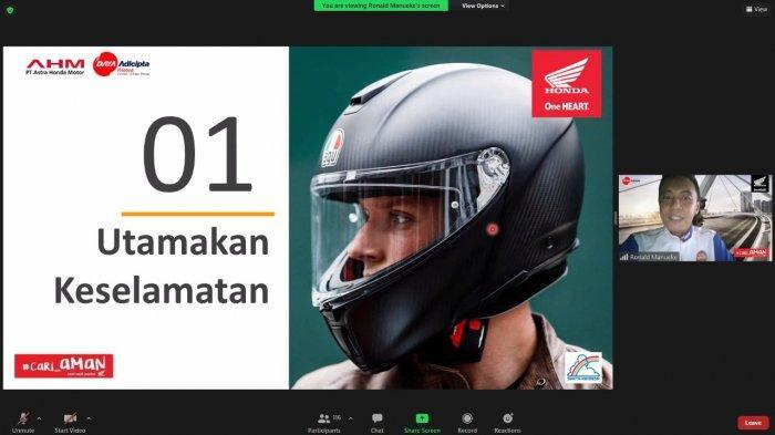 Honda dan Ditlantas Polda Gorontalo Edukasi Keselamatan Berkendara kepada Mahasiswa UNG