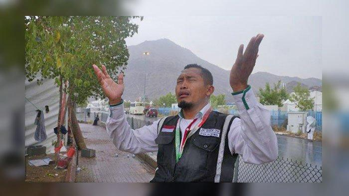 Ibadah Haji 2019, Hal Langka Terjadi, Hujan Deras Guyur Padang Arafah