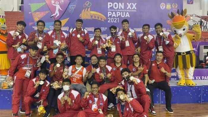 Tim Basket Sulut Raih Perak PON XX Papua, Steven Kandouw: Mereka Pahlawan
