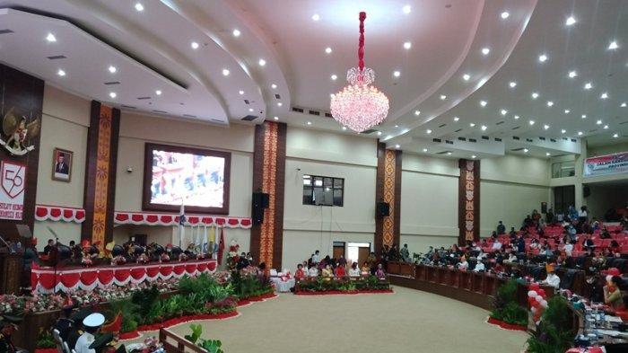 DPRD Sulut Gelar Rapat Paripurna Peringati HUT ke-56 Provinsi, Peserta Pakai Baju Adat