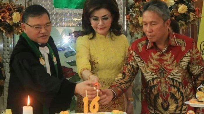 Ketua BPMS GMIM Pdt Hein Arina Pimpin Ibadah Syukur HUT ke-16 Minsel