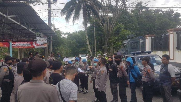 Ibadah Pemakaman Korban Penikaman di Langowan Mendapat Pengamanan Polda Sulut