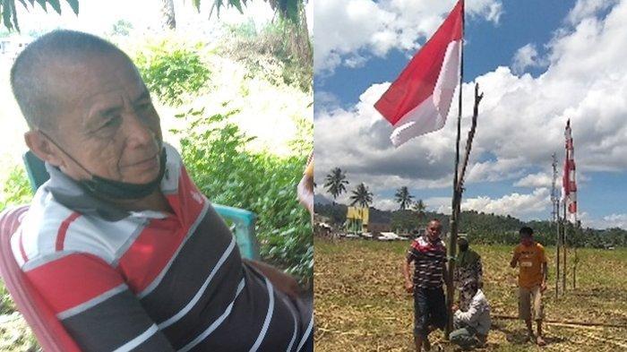 Ibrahim Lauma, Penggarap Peserta Upacara Kemerdekaan RI di Tengah Kebun Kawasan Gunung Eman Minsel