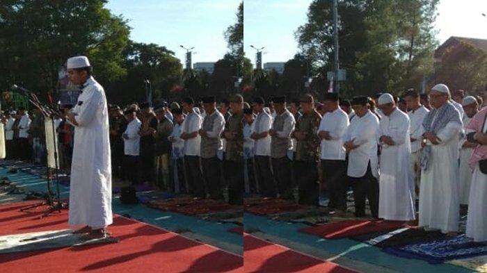 Kajati Sulut Sumbang Hewan Kurban ke Masjid Raya Ahmad Yani
