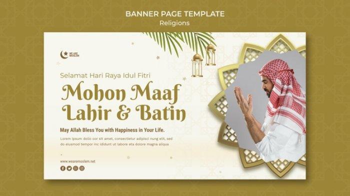 Kumpulan Ucapan Selamat Idul Fitri Terbaik, Cocok untuk Menjaga Silaturahmi Jarak Jauh