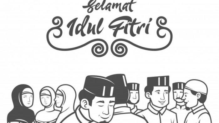 Bikin Tersentuh, Berikut Ucapan Selamat Idul Fitri, Cocok Dikirimkan ke Orang-orang Terdekat
