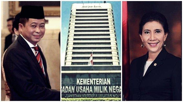 BUMN Beri Bocoran, Susi Pudjiastuti Dirut Perum Perindo & Ignasius Jonan Pimpin Garuda Indonesia?