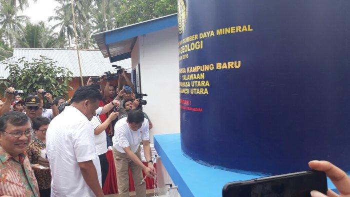 Menteri Jonan Janji Akan Bangun Lagi15 Sumur Bor di Sulut