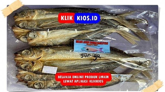 Belanja Yuk! Ada Ikan Asin Sangat Berkualitas di Kios UMKM Sulut