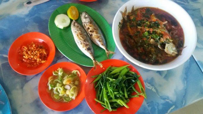 Nikmatnya Tude Bakar Angel Fish Resto