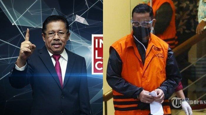 ILC Selasa 8 Desember, Karni Ilyas Singgung Mensos Juliari: 'Dana Bansos Pun Dipungli'