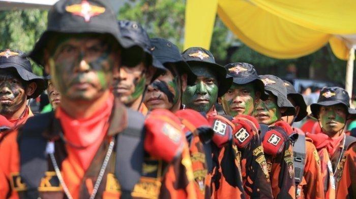 Ilustrasi anggota Pemuda Pancasila.