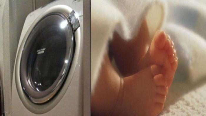 Terungkap Bayi yang Dimasukkan dalam Mesin Cuci, Jatuh saat Dilahirkan, Ibunya dalam Posisi Berdiri