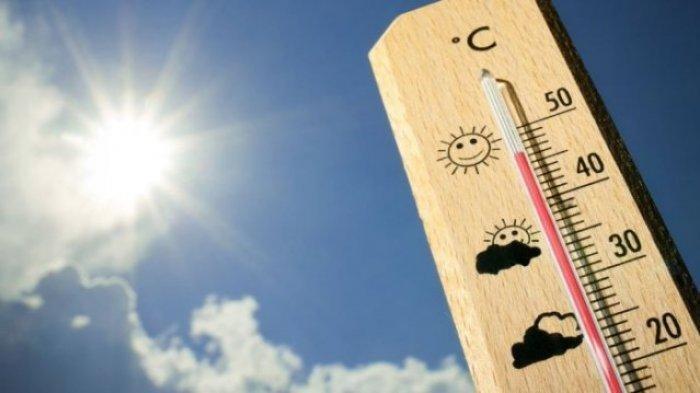 ilustrasi cuaca panas