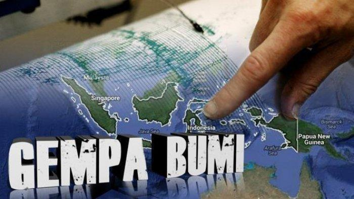 Gempa Magnitudo 5.7 Terjadi Tengah Malam Ini Lokasi dan Kekuatannya Data BMKG Senin 3 Mei 2021