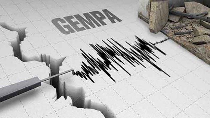 Gempa Bumi Rabu (21/4/2021) Tadi Pagi Pukul 09.03, Berikut Ini Titik Lokasi dan Kekuatan Gempa