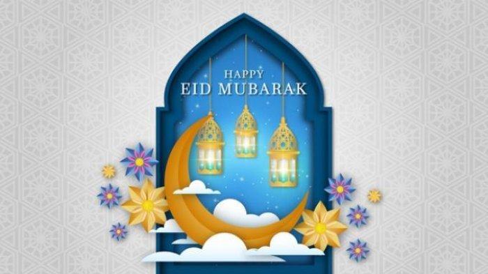 ilustrasi Happy Eid Mubarak (Freepik) - Simak kumpulan ucapan Selamat Hari Raya Idul Fitri 1442 H dalam artikel ini